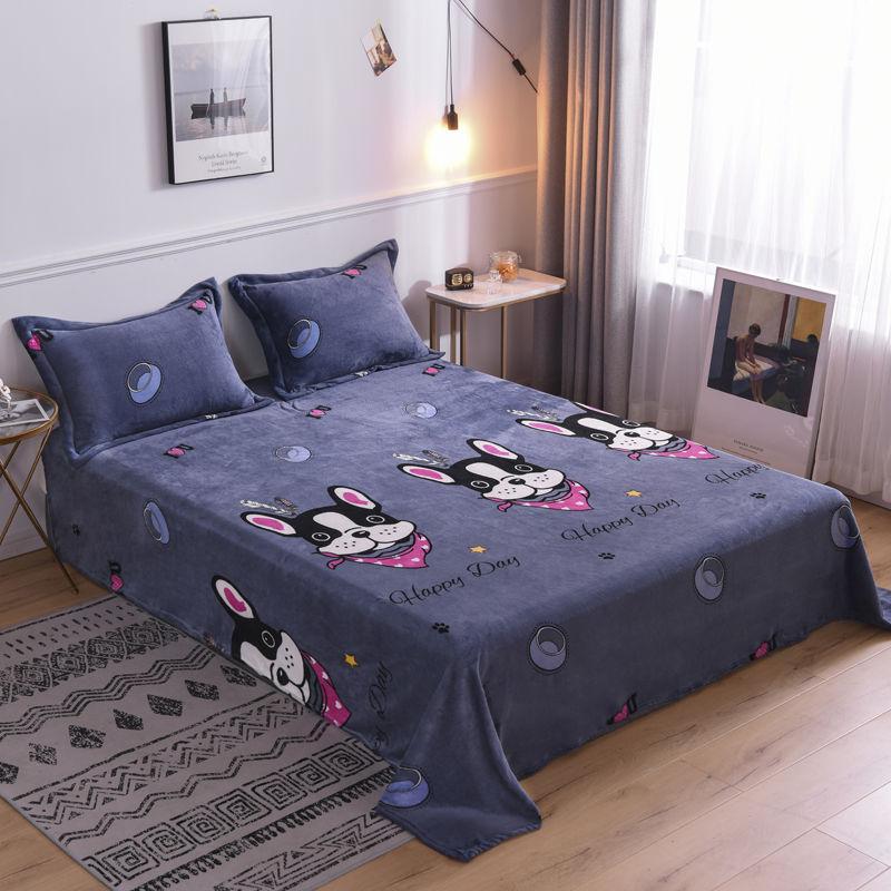 冬季法兰绒毛毯床单双人毯珊瑚绒毯子保暖绒毯四季毯午睡毯速暖毯