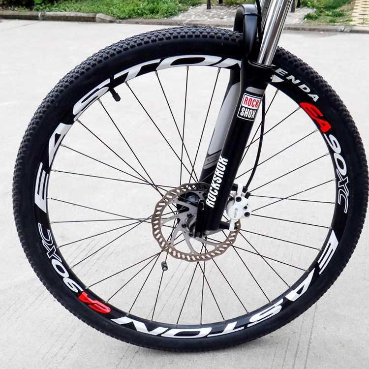 。EASTON EA90XC轮组贴纸 山地车轮圈贴纸 自行车贴纸车圈反光贴图片