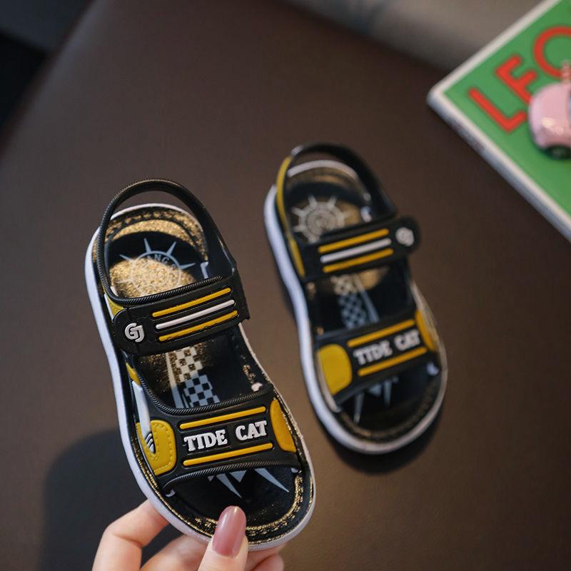 儿童男童凉鞋宝宝凉鞋夏季2021新款网红软底幼儿小童洋气小孩凉鞋