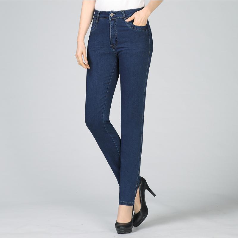 2020女装新款四十妇女五十s多岁女人穿的牛仔裤下装女士外穿休闲