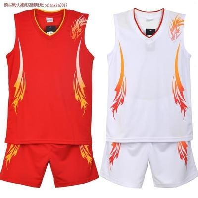 Mens spring and summer training ball, boys basketball uniform, team uniform, match uniform, loose sports vest, 5 points.