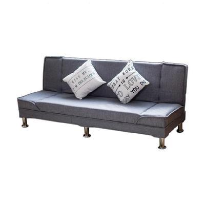 可躺沙发家用沙发床可折叠双人布艺皮革小沙发可折叠服装店奶茶店