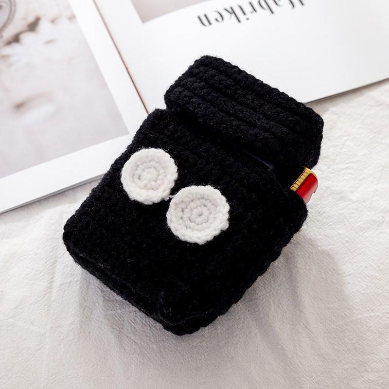 高档父亲节自物走心手工编织礼制生日送男朋友老公的软盒烟套奢华