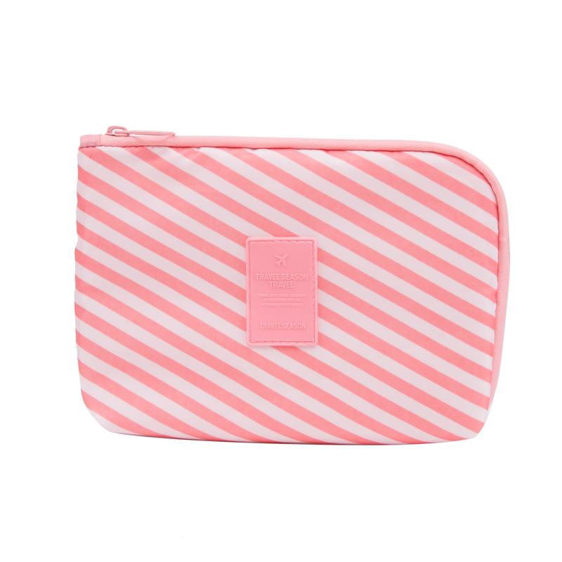 High grade travel portable storage bag electronic mobile phone treasure digital line storage bag certificate Bag Makeup Bag luxury