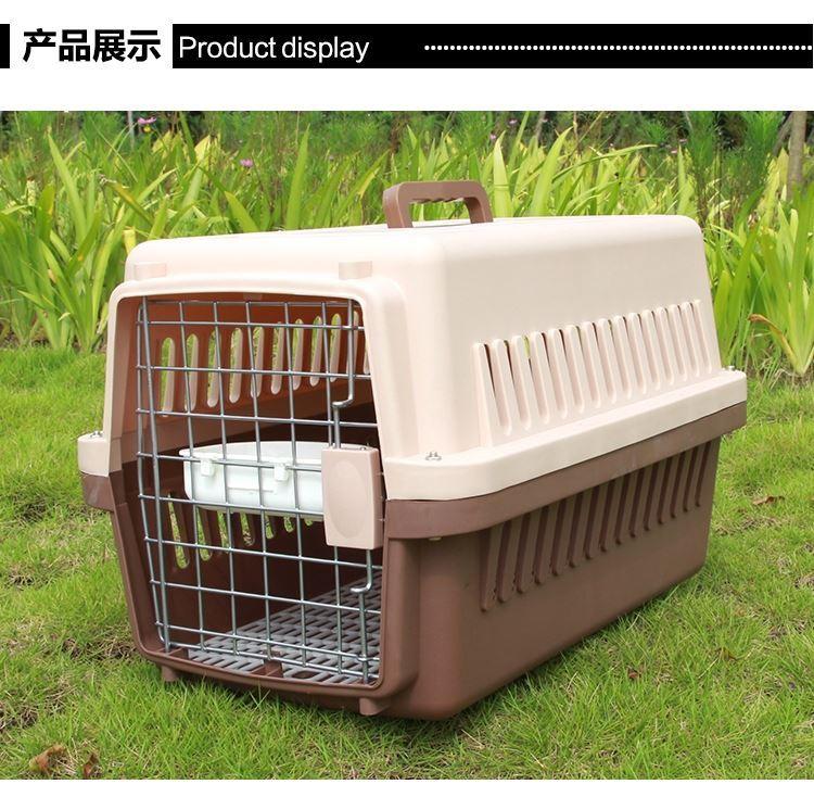 宠物箱猫咪笼子便携外出狗狗中型犬托运手提狗笼猫箱子空运包。