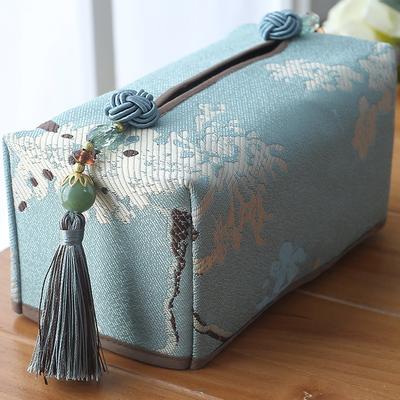 欧式餐巾纸盒子纸巾盒家用餐厅餐桌轻奢创意汽车收纳盒抽纸卫生纸