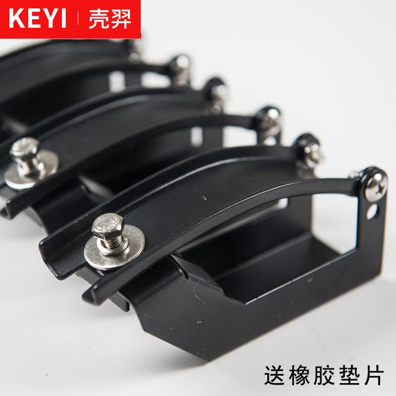 行李架横杆卡扣汽车外部挂件通用车顶架子货架改装配件固定螺丝。