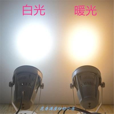 新款led夹子射灯移动拍照展示灯聚光服装串联珠宝展会补光插适用