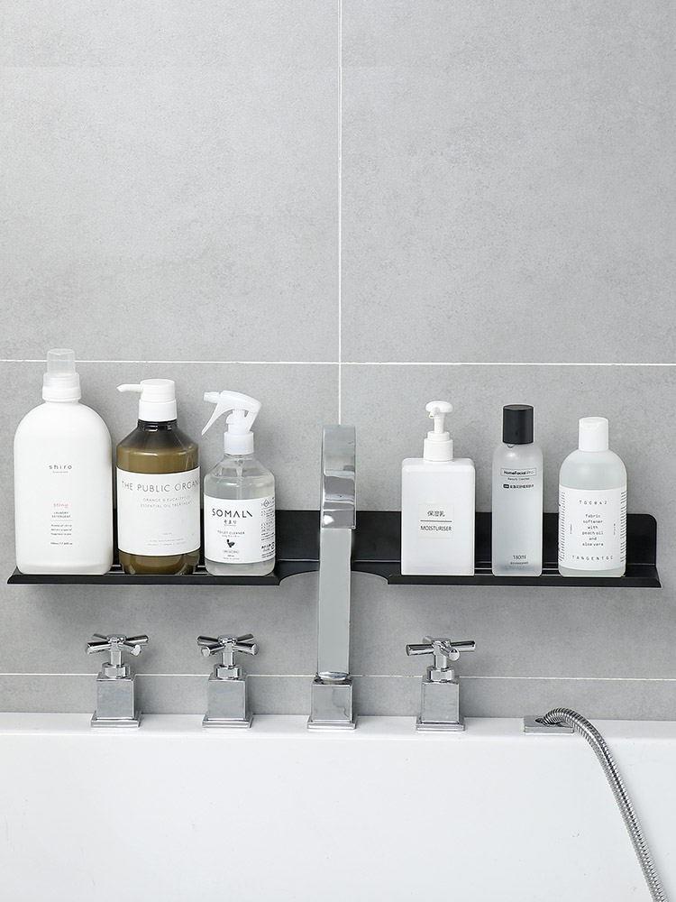 中國代購 中國批發-ibuy99 厕所用品 卫生间洗手台置物架浴室收纳神器免打孔厕所洗漱用品墙上收纳架