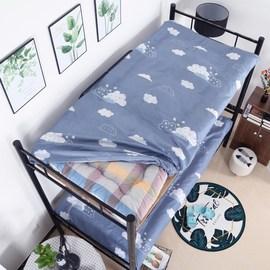 单人床垫保护套0.9m米全包床罩防尘学生床笠宿舍垫子套拉链可拆卸图片