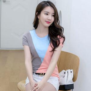 2021年新款夏季短袖女装韩版t恤