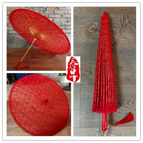 杭州大红蕾丝伞婚庆伞拍照摄影,婚礼布置舞蹈伞道具伞工艺伞