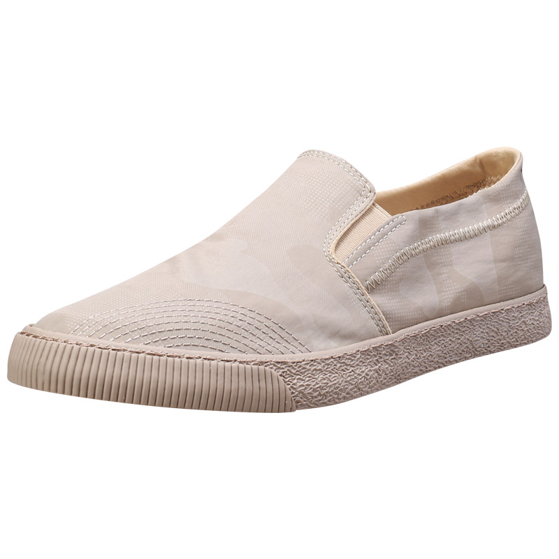 Quick drying silk cloth shoes mens shoes are breathable and retro in summer. One step on old Beijing fashion shoes mens casual canvas shoes