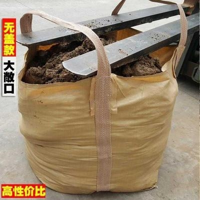 The large-scale construction site cloth bag is lined with load-bearing sludge preloading bag, and the special bag is used for lifting durable goods.