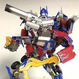 變形玩具金剛電影武器包擎天柱雙鉤手炮配件變形金剛模型專區現貨圖片