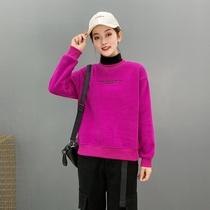 抖音热销微微品质女装1122001 加绒卫衣女 M-3XL (适合80-145)
