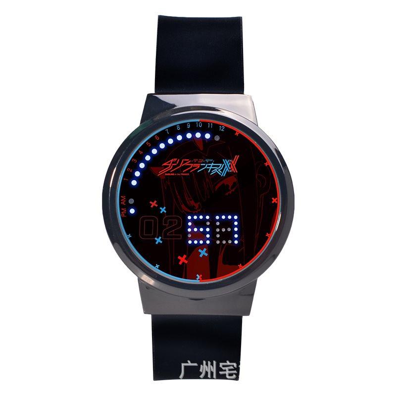 二次元darlingp国家队02男女触屏手表学生动漫周边电子表