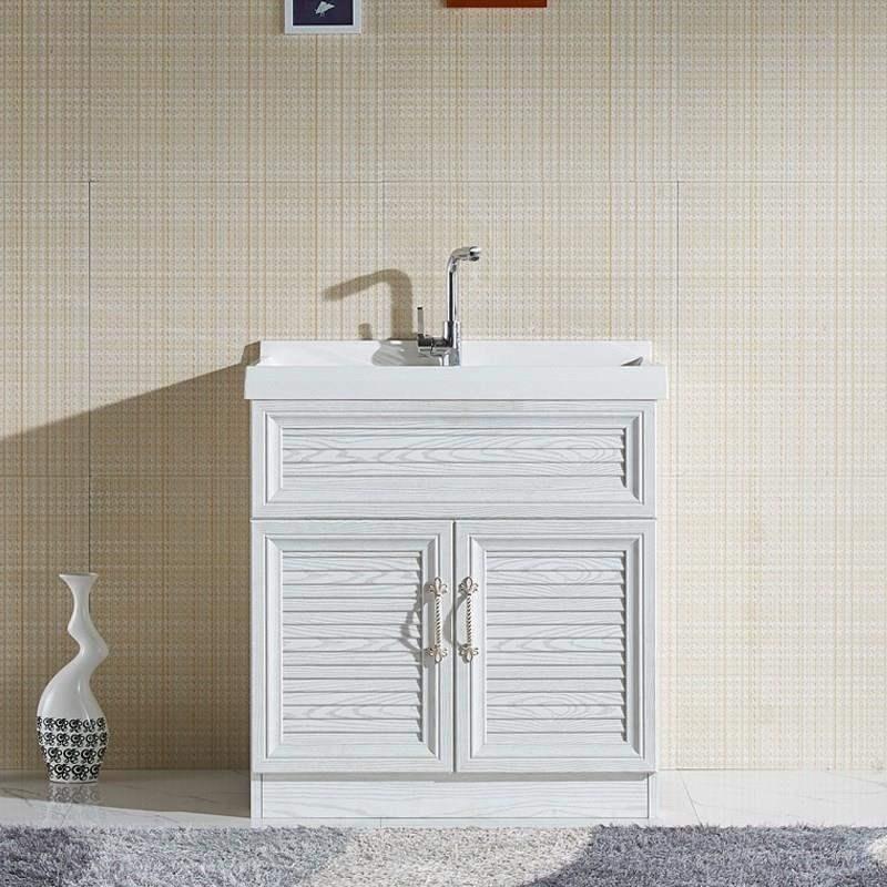 艺术宾馆储物柜洗漱落地式橱柜卫生间家用浴室柜客房装饰手台洗。