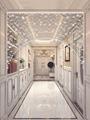 珠帘水晶隔断客厅过道卫生间结婚门帘装饰玄关雪花珠子帘子免打孔
