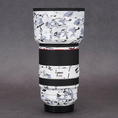 佳能CanonRF70-200mm F2.8 L IS USM镜头保护贴膜贴纸贴皮迷彩3M