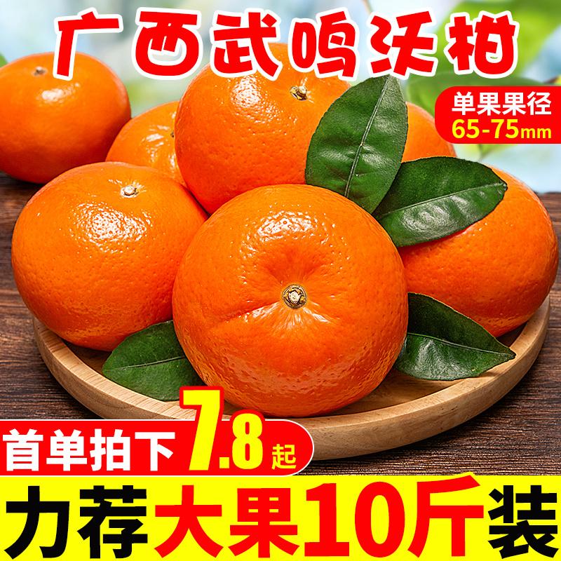 广西武鸣沃柑大果10斤包邮当季新鲜水果一级砂糖甜蜜柑桔橘子皇帝