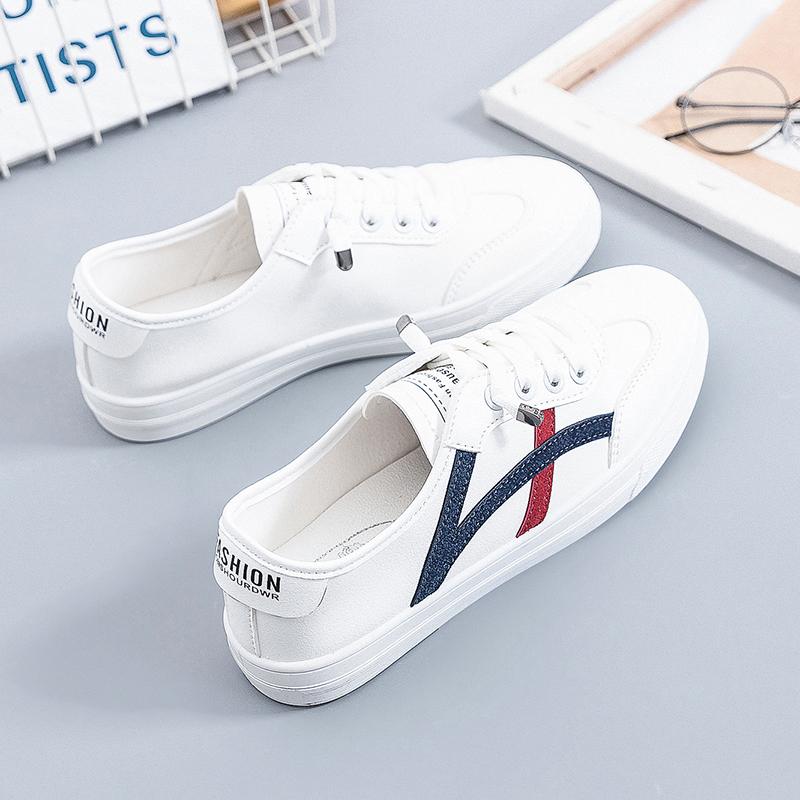 タオバオ仕入れ代行-ibuy99 运动鞋 小白鞋女鞋子2020年夏秋季新款百搭女式休闲平底板鞋女学生运动鞋