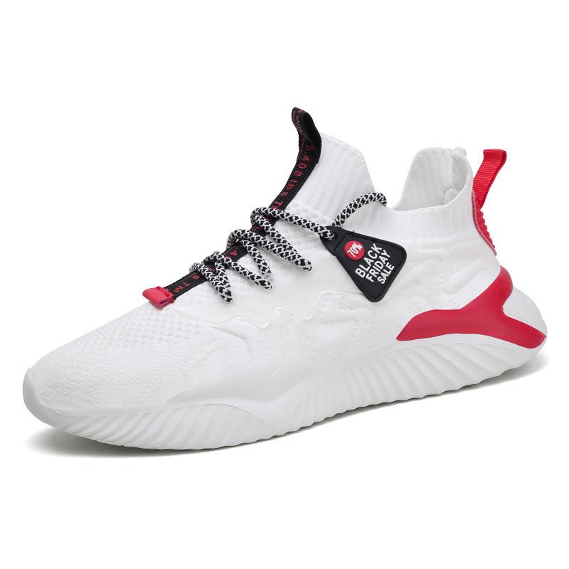 2021夏季新款运动鞋男鞋时尚潮鞋男士学生透气休闲跑步潮流小白鞋