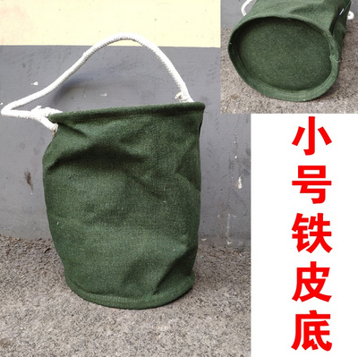 。 High altitude hardware, hydropower work package multifunctional tool kit canvas portable hanging bag household small worker power.