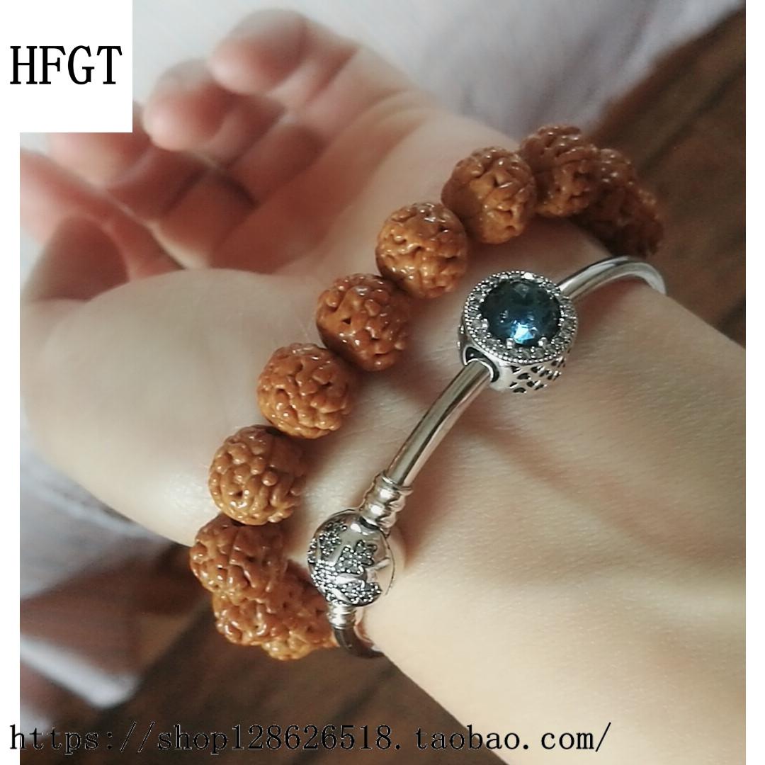 High grade hfgt925925 heart of the ocean blue bead snowflake Bracelet girl Beaded Bracelet girlfriend fashion