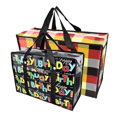 バッグ引っ越し子の荷物を包むために寝李の袋を編んで、布を織って、大きなサイズの防水を備えます。