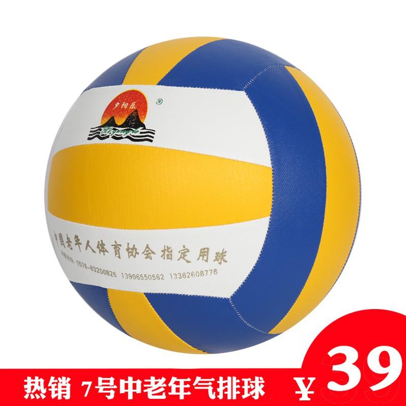 气排球7号中老年健身标准汽排球成人轻软式训练比赛专用球天天乐