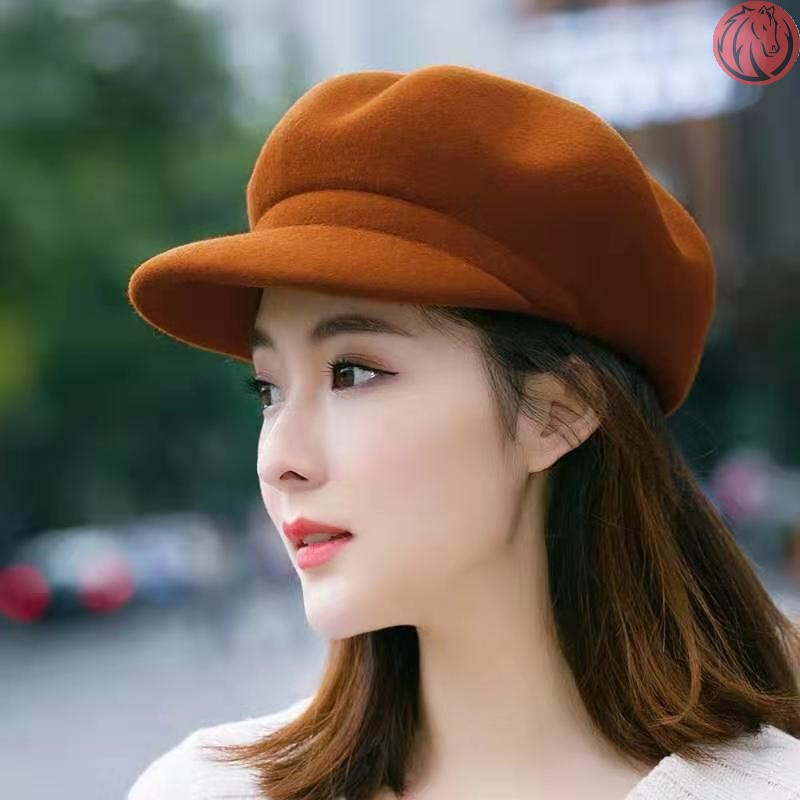 New hat 2020 net red winter hat childrens autumn and winter wool BERET