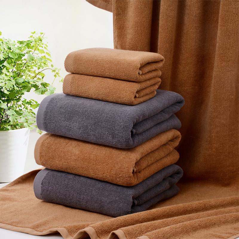 純綿バスタオルホテルの美容院の深灰色のラクダ色の布団タオルの火治療専用タオルの厚さを増やす。