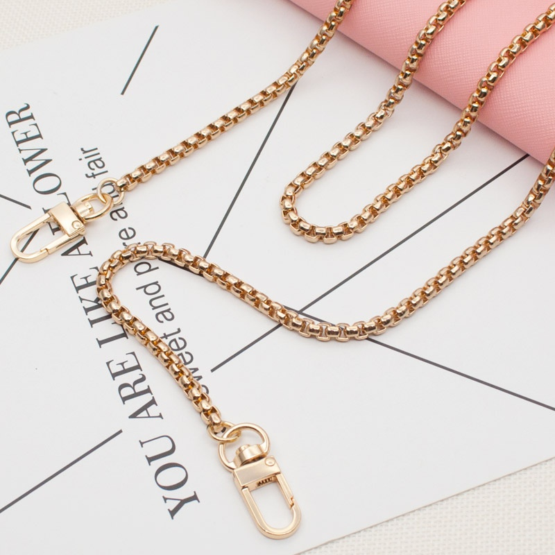 Small bag oblique single word bag square round shoulder o bag single chain accessories carrying chain with metal detachable chain buy chain female