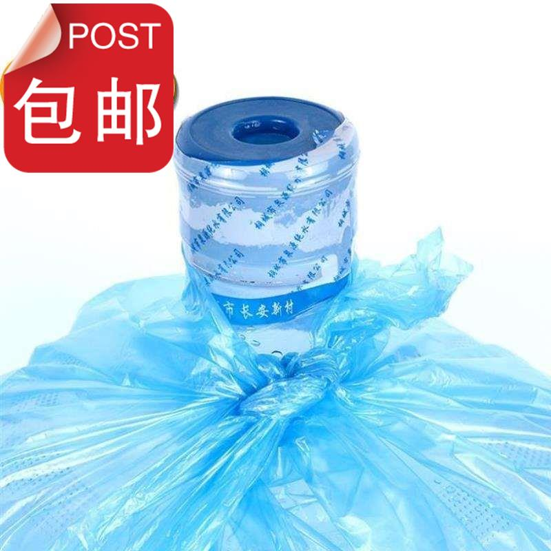 1 manual bucket plastic bag commercial film t6g packaging film water purification bucket plastic bag outside the water dispenser.