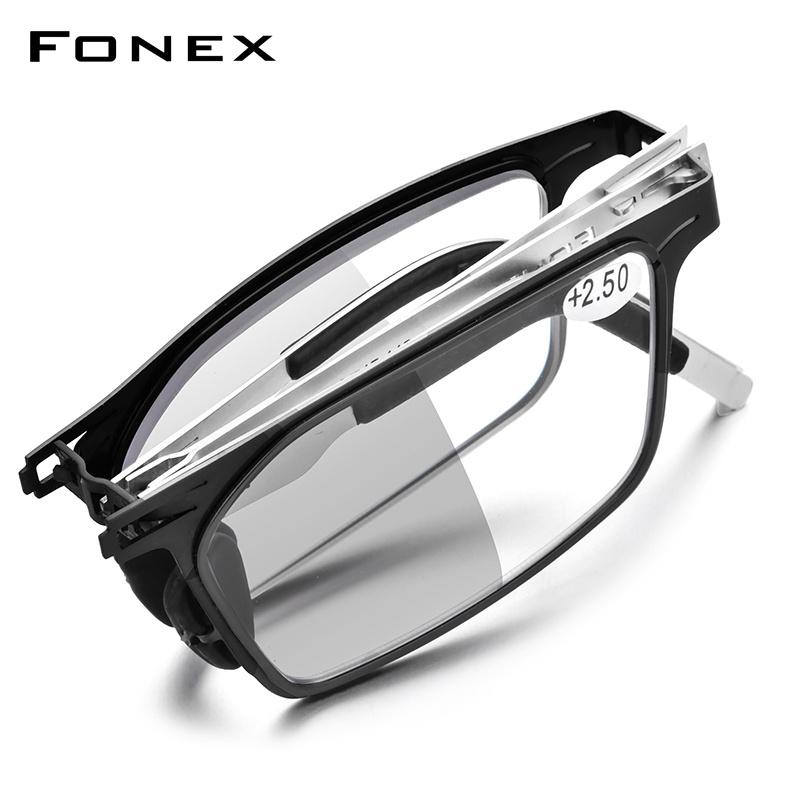 Huajing fonex photochromic reading glasses for men and women.