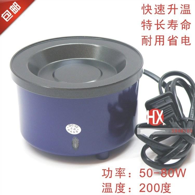 锅发热溶粒熔炉接驳热熔胶可炉假胶调温小型熬胶棒可。胶接发熔锅
