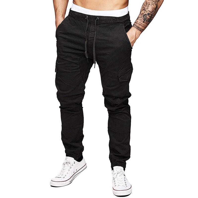 多口袋梭子长裤 男式户外工装裤