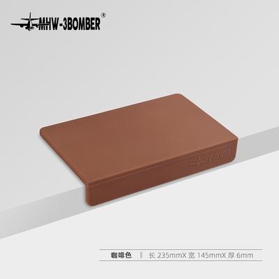 .垫垫粉压转角咖啡机锤轰炸机硅胶手柄粉垫防滑-3bomber垫吧台m.