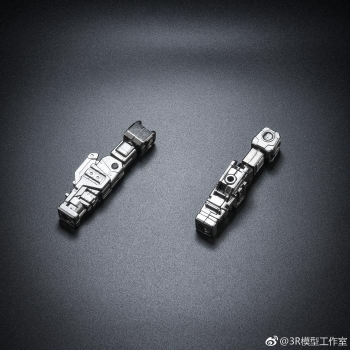 正品包邮 3R合金骨架 MG强袭RM 暴风 决斗 闪电高达 合金骨架模型