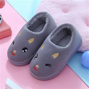 棉拖鞋女童居家薄绒女孩s子女式日式家用小孩鞋子酒店小学生女鞋
