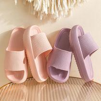 新款凉拖鞋女生夏季日用家居家浴室地板拖鞋男冲凉厚底软防滑情侣