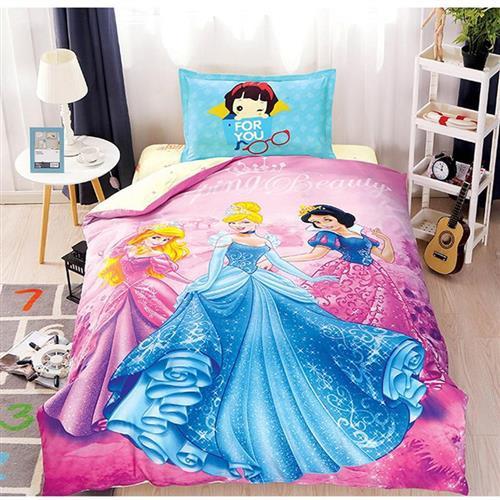 Children% pass pure cotton quilt cover lovely girl Princess 100 card cotton quilt single s-core quilt cover.