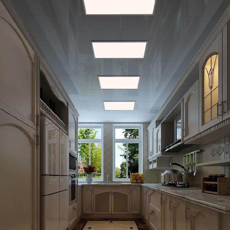 灯面板天花板灯源led扣平板卧室长条灯光30cmx30cm卫生间过道吕。