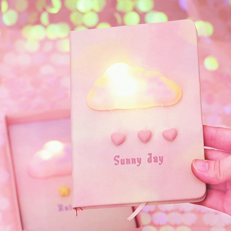 ins少女心小物爆棚的礼物有纪念的东西生日送给女光手账本。