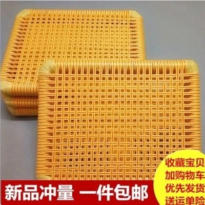 Clothing factory double insulation electronic factory ventilation cushion summer staff mat rectangular silk clothing cushion