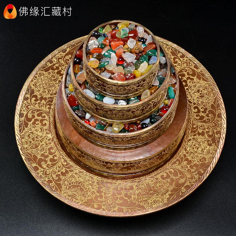 Круги с буддийскими текстами Артикул 640352804880