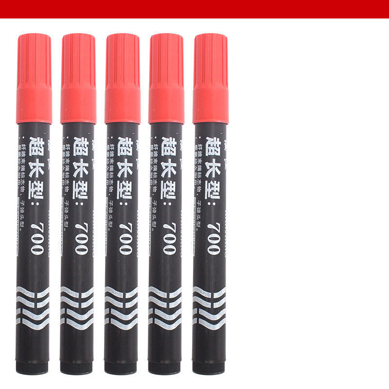 Marking pen large capacity oily extended red black express large pen office necessities.
