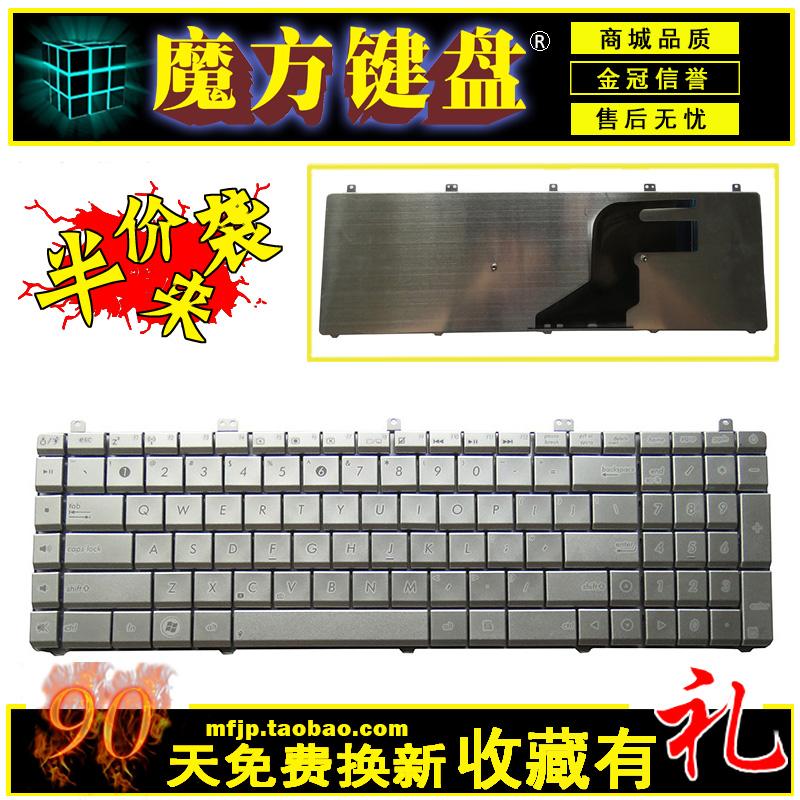 适用ASUS华硕英文N55SN55N55SLN55SFN55XI263SF笔记本键盘