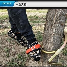 神器電工木桿鐵鞋爬樹工具電信登桿腳扣電線電纜電線桿IC起拔器圖片